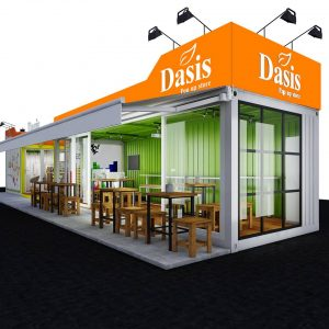 Cafe Container DASIS